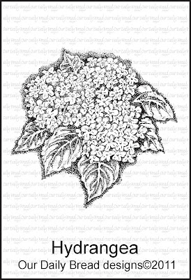 Our Daily Bread designs Hydrangea Single
