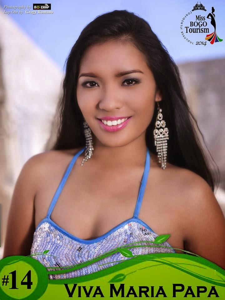 Viva Maria Papa  - Miss Bogo Tourism 2014