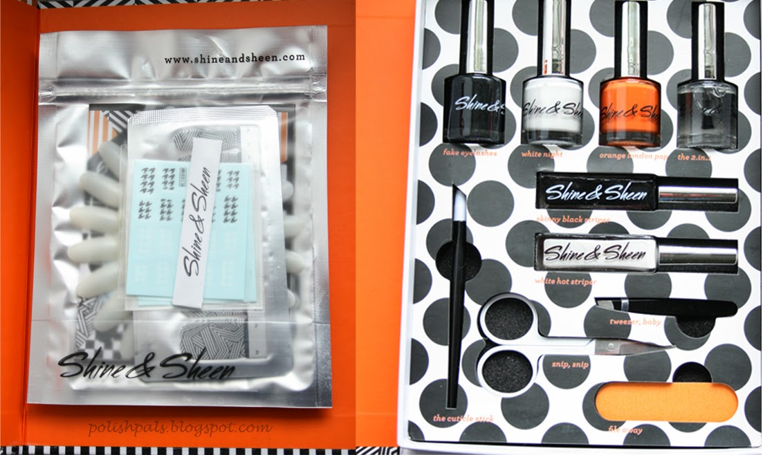 Shine and Sheen Nail Art Kit Review