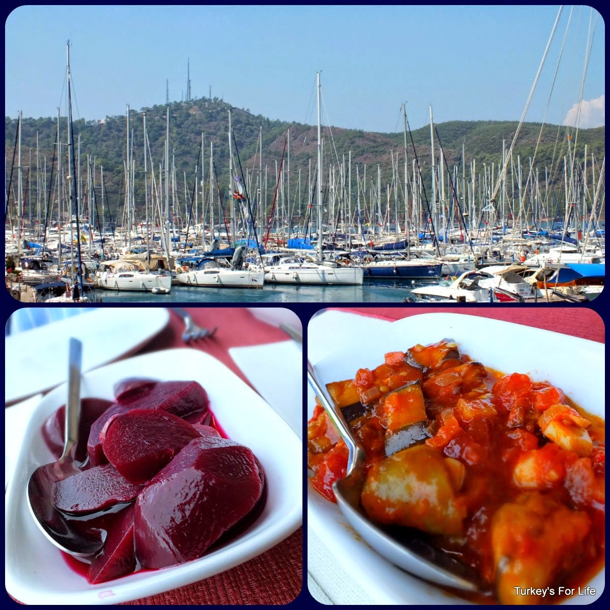 Meze Dishes & Views From Captain's Pearl, Fethiye