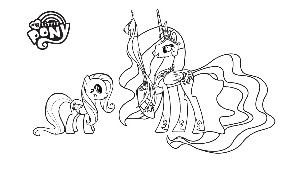 Free Coloring Pages Of My Little Pony Spike