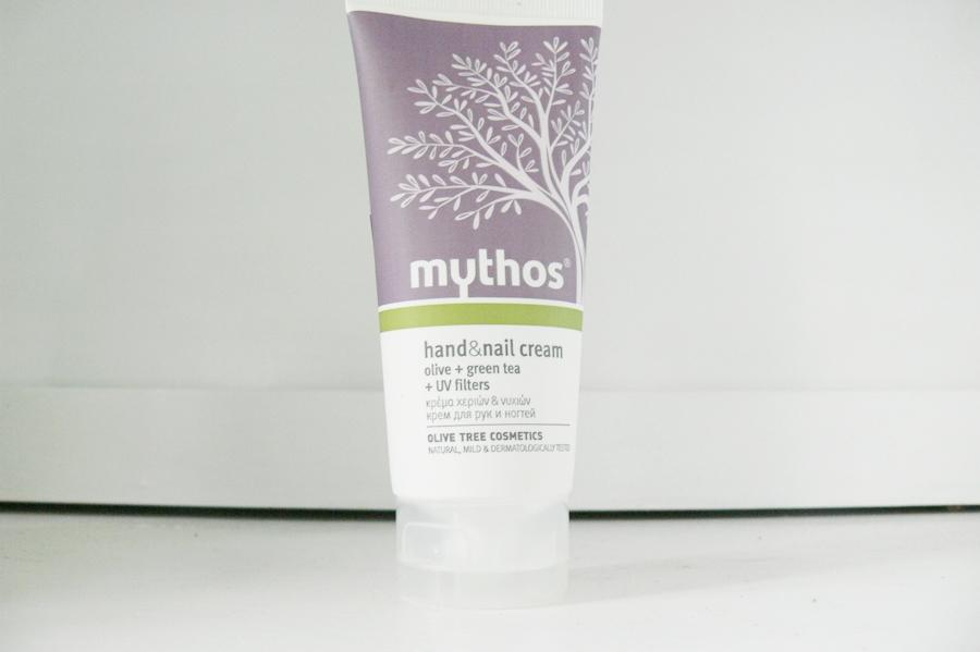 Flax Cosmetics, Mythos, Krem do rąk i paznokci Oliwa + Zielona Herbata (Hand&Nail Cream Olive + Green Tea)