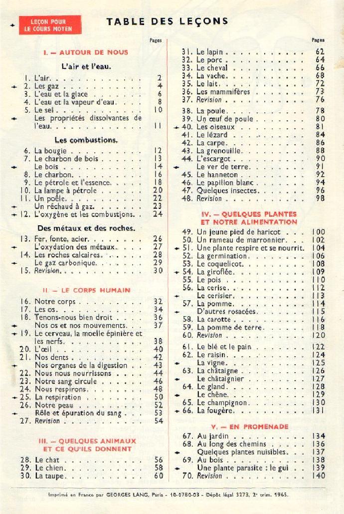 Regard d'un chercheur sur l'évolution des manuels Orieux+Everaere+Livre+unique+table+1