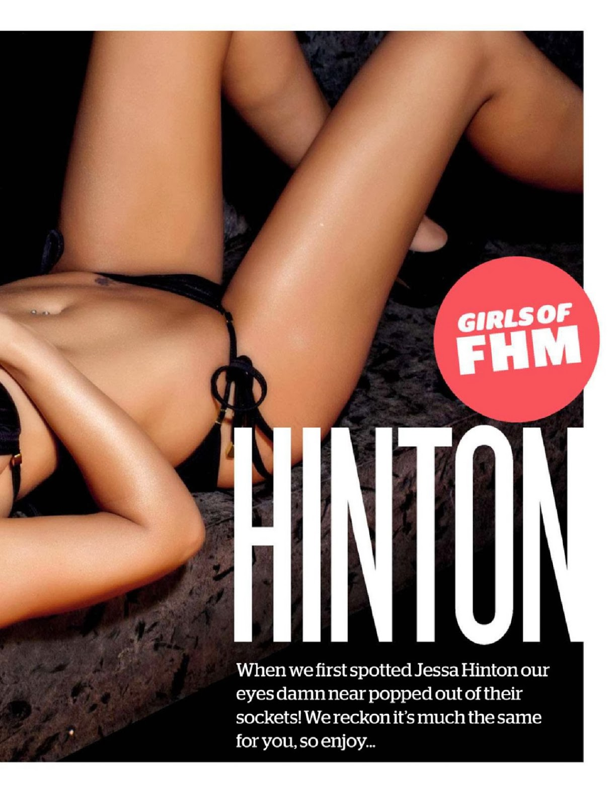 Jessa Hinton HQ Pictures FHM South Africa Magazine Photoshoot March 2014