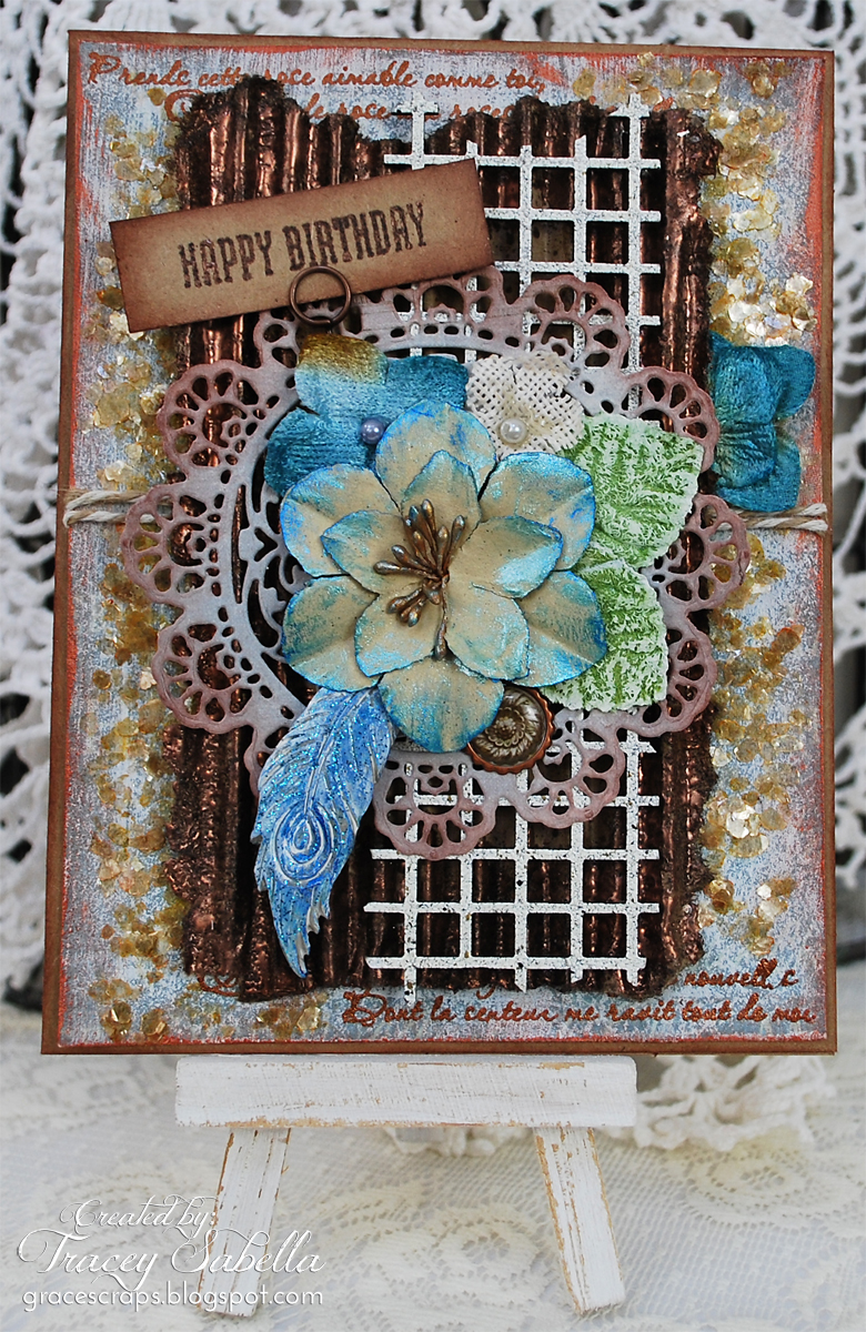 Scraps Of Darkness And Elegance DIY Rustic Mixed Media