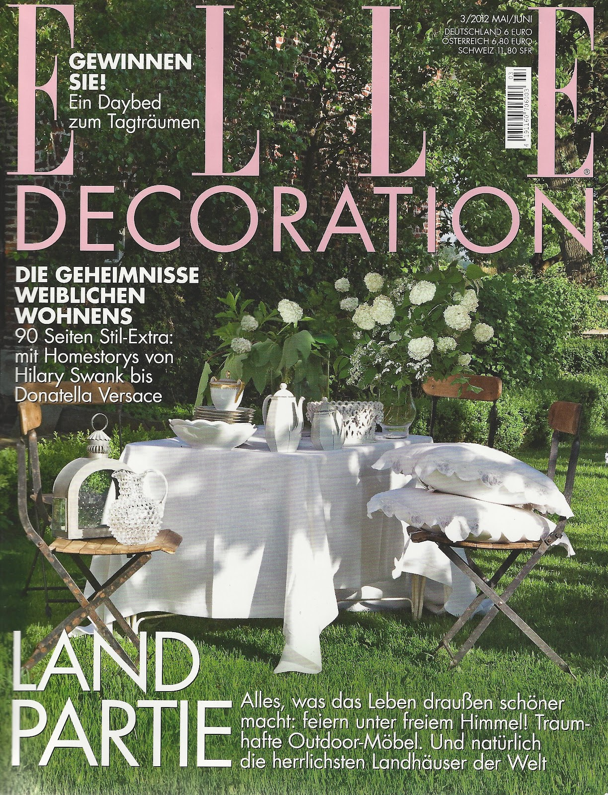 Casa olivi elle decoration germany june 2012 for Elle decoration germany