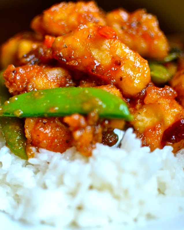 Yammie's Noshery: Sweet and Sour Chicken {Without all the deep-frying ...