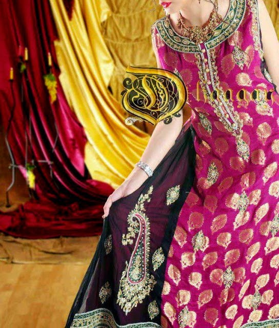 Dhaagay-Winter-Party-Dresses-2015
