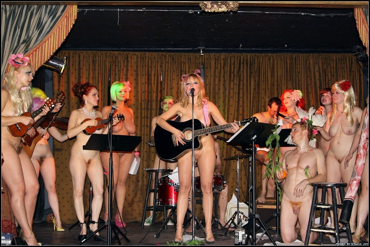 all girl band naked