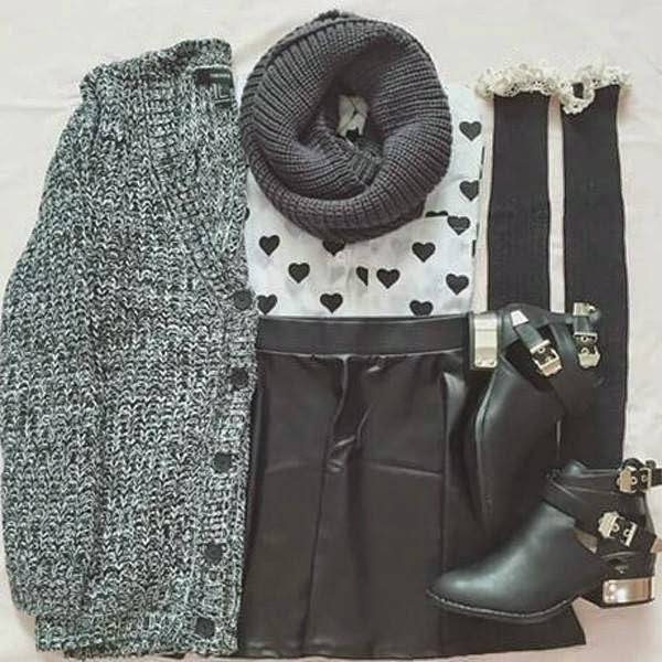 Outfits Set For Cold Days..