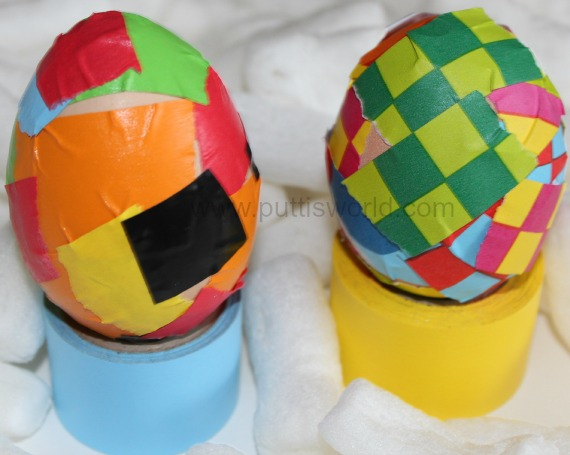 Easy Easter Egg Decorating For Kids Tape