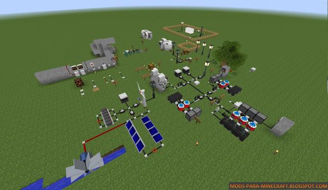 Imagen 3 del Electrical Age Mod para Minecraft 1.7.2/1.7.10