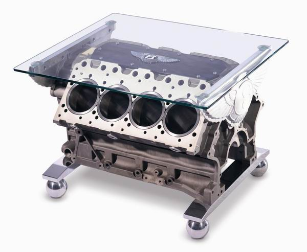 Bentley Engine Block Coffee Table