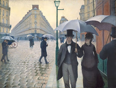 «Gustave Caillebotte - Jour de pluie à Paris» de Gustave Caillebotte - The first two versions of Ibiblio. The sources of the third and fourth release have not been specified by the uploaders.. Disponible bajo la licencia Dominio público vía Wikimedia Commons - https://commons.wikimedia.org/wiki/File:Gustave_Caillebotte_-_Jour_de_pluie_%C3%A0_Paris.jpg#/media/File:Gustave_Caillebotte_-_Jour_de_pluie_%C3%A0_Paris.jpg