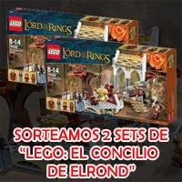 """Sorteamos 2 kits """"LEGO: El Concilio de Elrond"""" para celebrar el estreno de El Hobbit"""