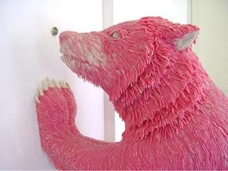 gum sculpture bear