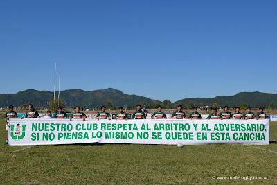 Mensaje de Universitario Rugby Club