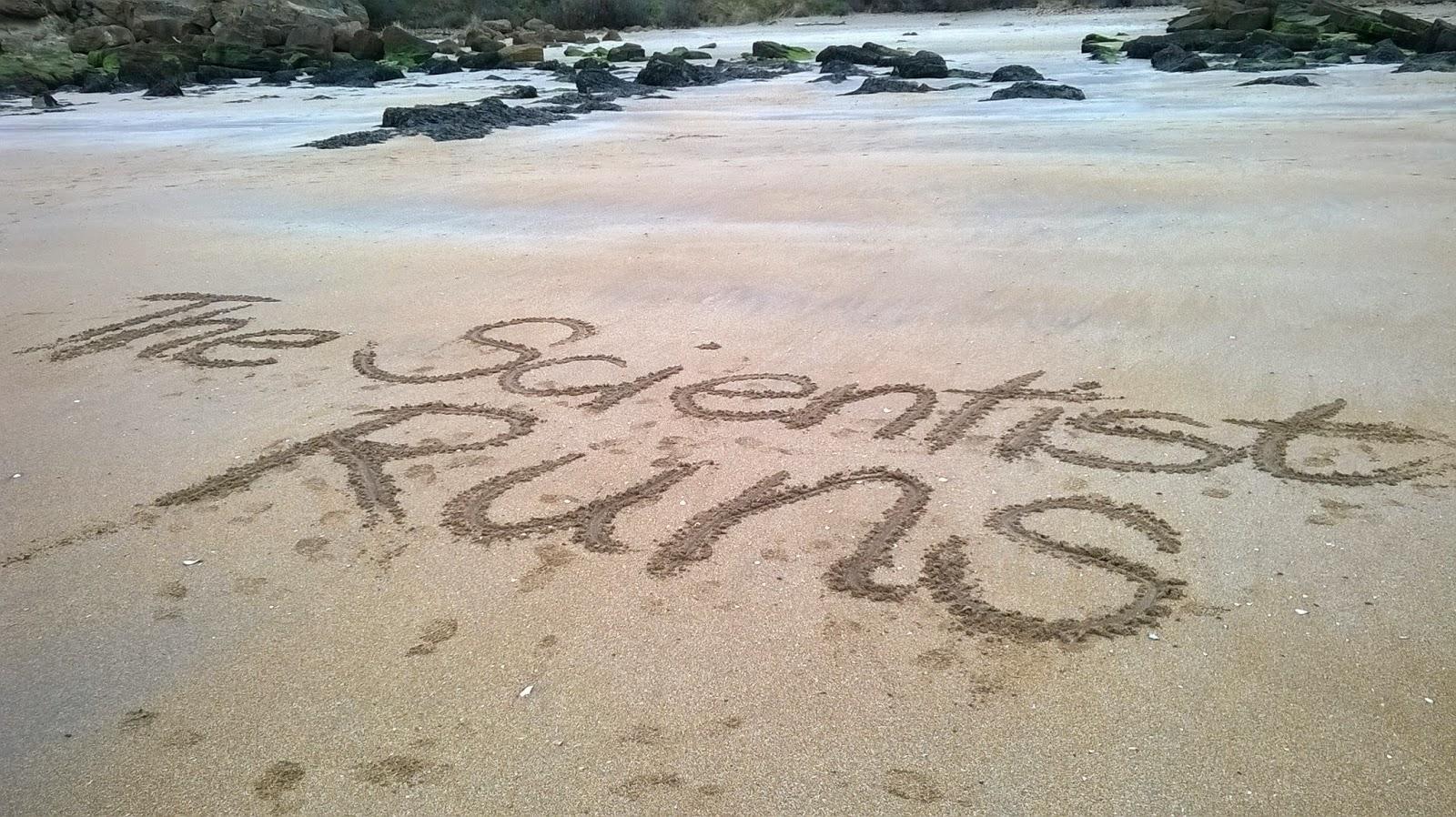 Running on the Scottish sands: Gullane Bents