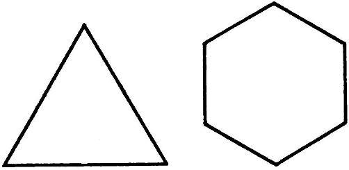 Фигуры с одинаковыми периметрами