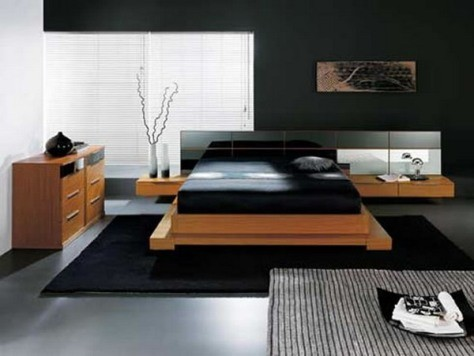 Dise o de muebles para un dormitorio moderno decorar tu - Diseno dormitorio ...