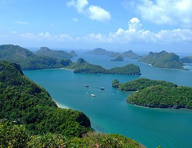 อุทยานแห่งชาติหมู่เกาะอ่างทอง จ.สุราษฏร์ธานี