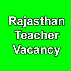 RBSE Teacher Recuitment 2015