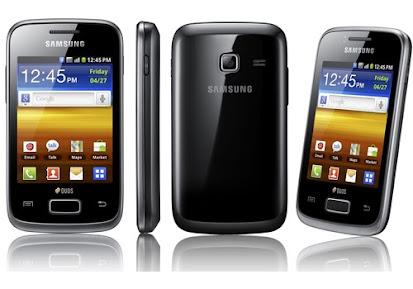 Harga Dan Spesifikasi Samsung Galaxy Y Dous S6102
