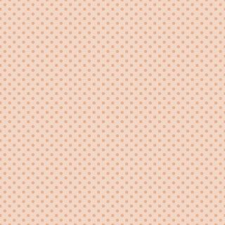 paper digital peach polka dots