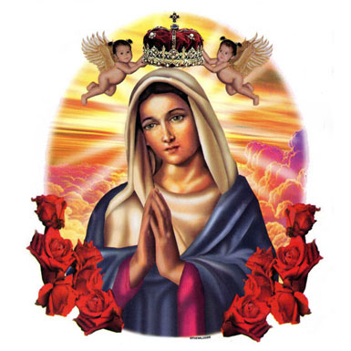 Virgin Mary of the Roses LWP - Android Apps on Google Play