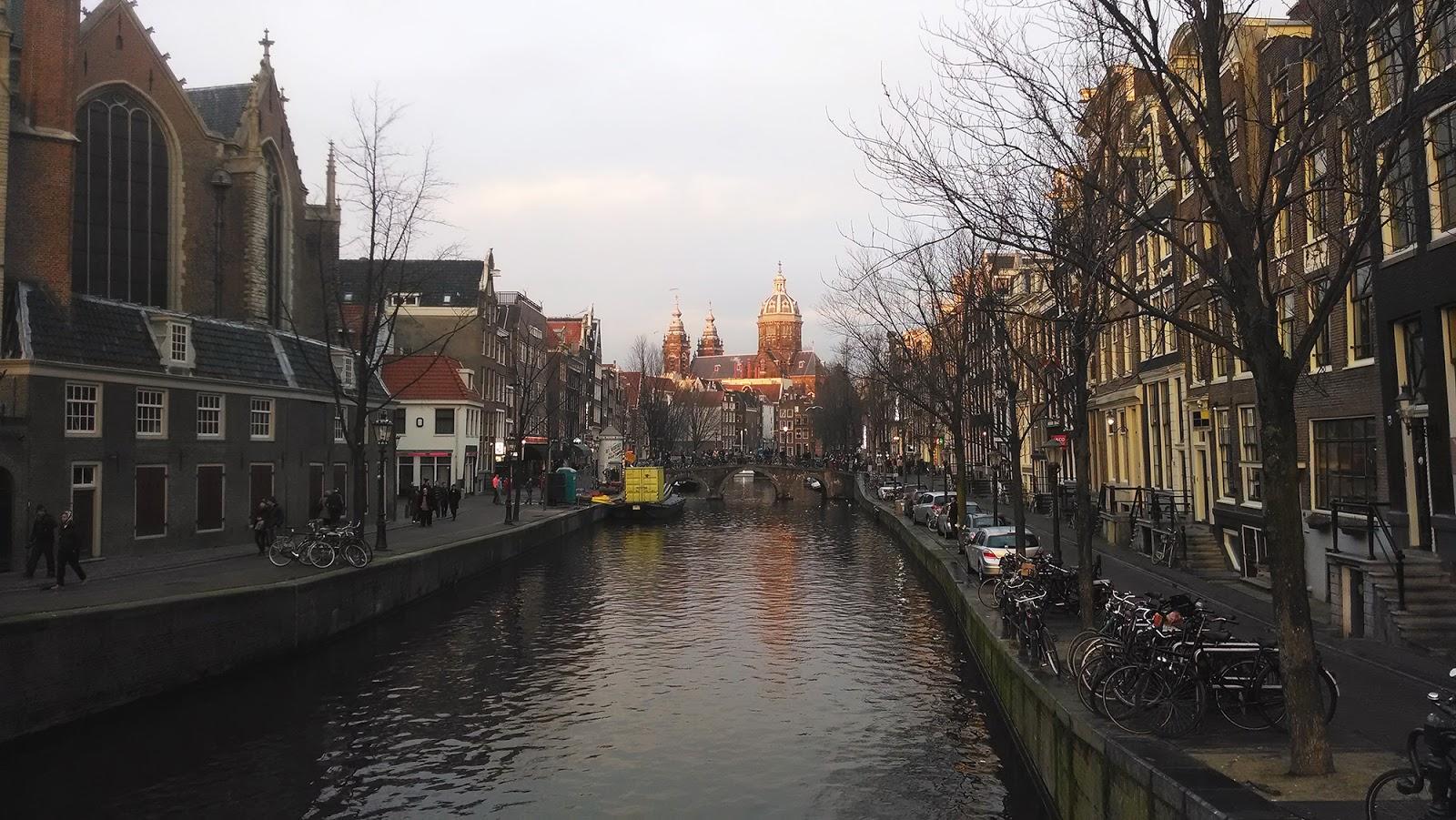 Амстердам+каналы