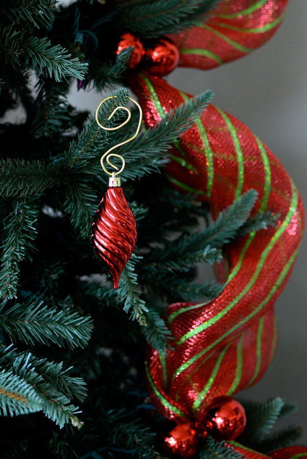 Ornament Hook, Aluminum Wire, How- to, Tutorial, Christmas