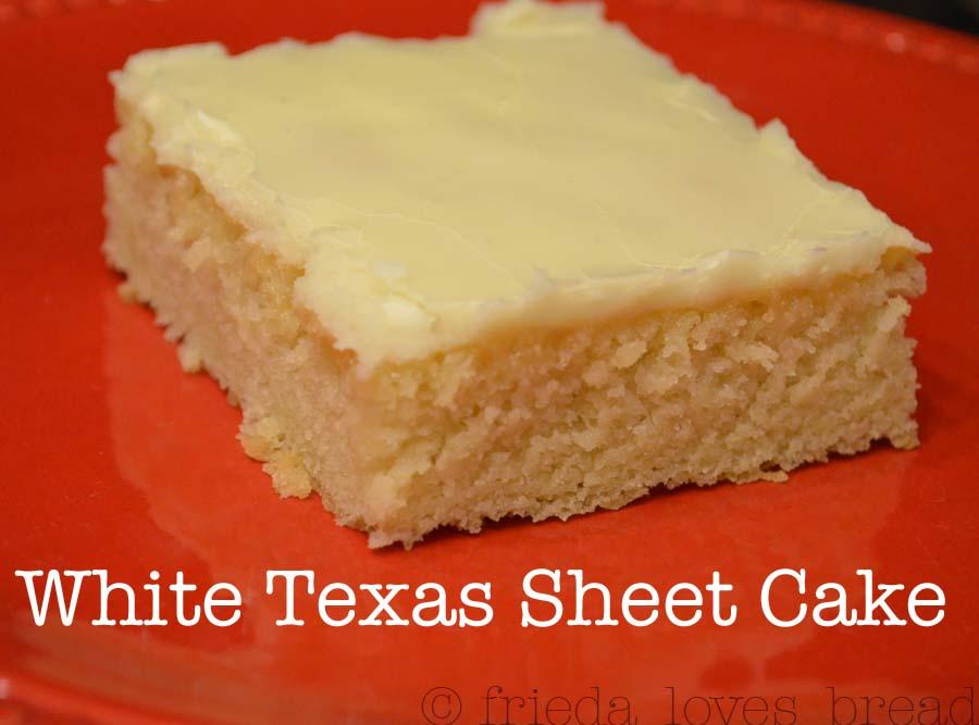 Easy white sheet cake recipe