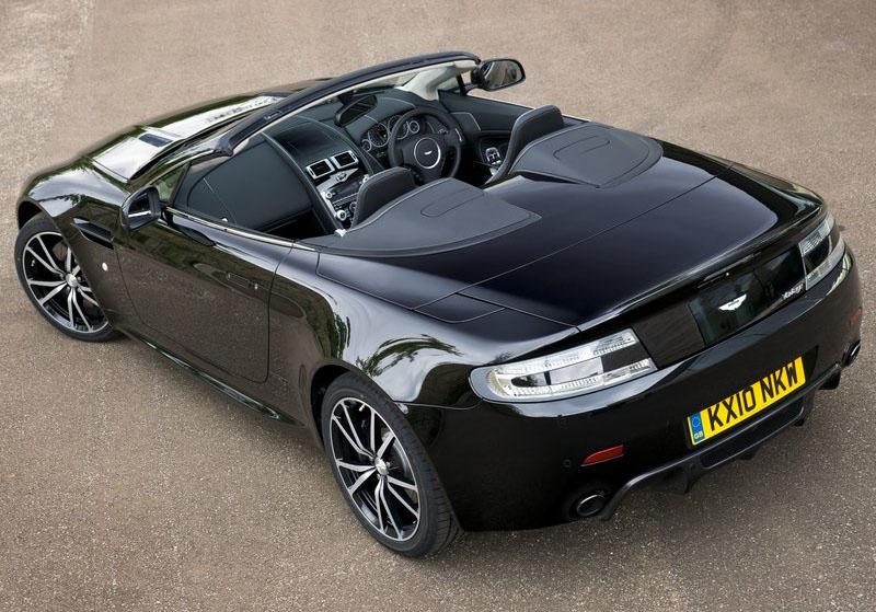 Auto Car Review Aston Martin V8 Vantage N420 Roadster 2011