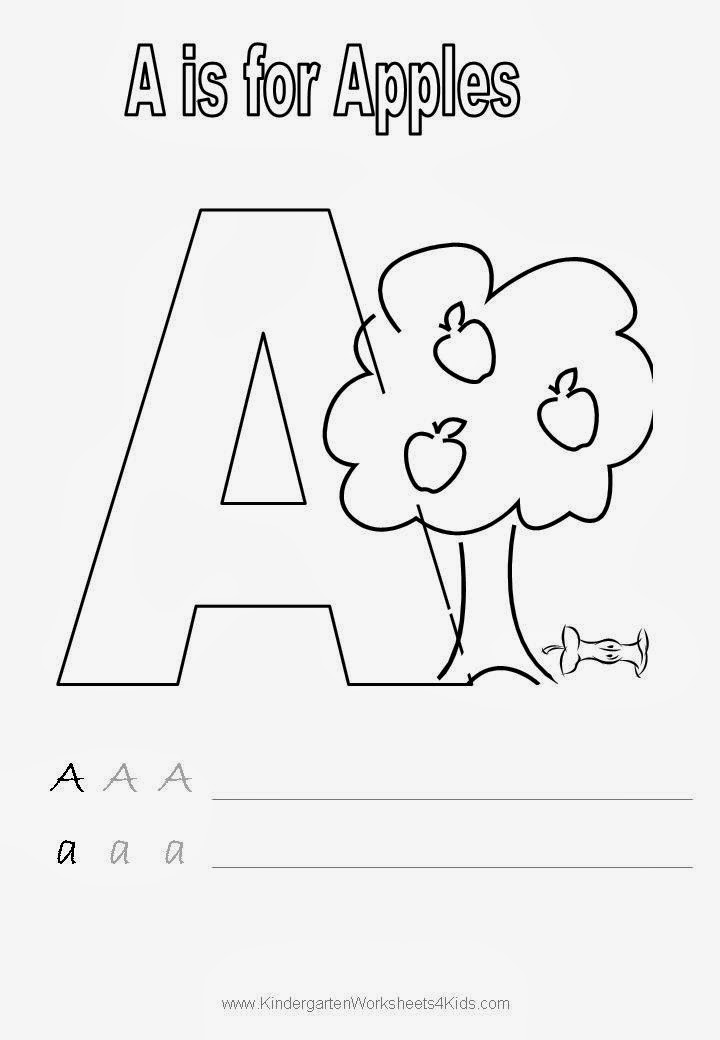 Images gallery of kindergarten handwriting worksheets