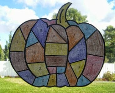 http://primaryinspiration.blogspot.com/2013/09/patchwork-pumpkin-math-freebie.html