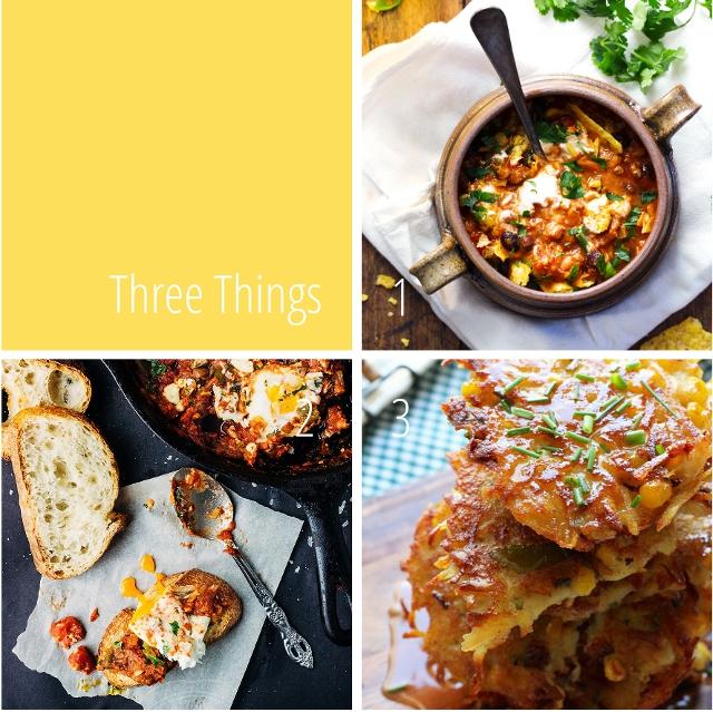 Three Things I Love: Comfort Food.