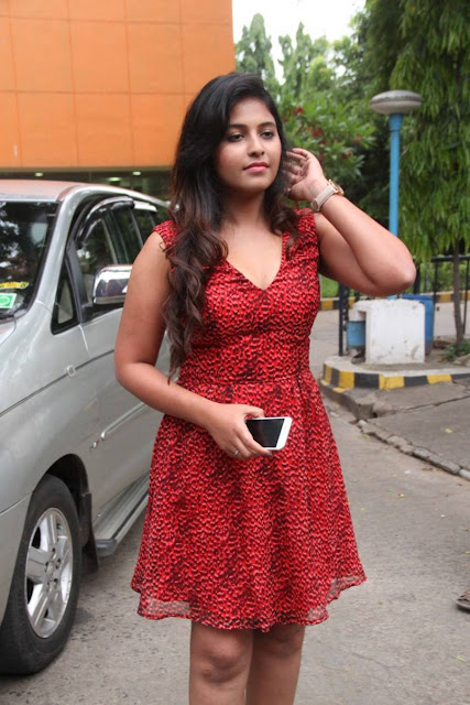 Anjali Latest Pics At Sakalakala Vallavan Appatakkar Movie Press Meet