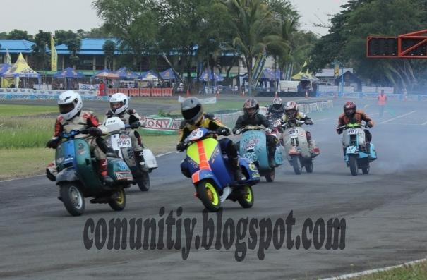 Masih berlokasi di Sirkuit Internasional Karting Sentul, VBI 2012  title=