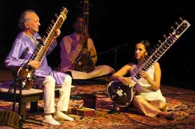 Ravi y Anoushka Shankar