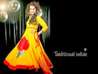 Colorful Anarkali Readymade