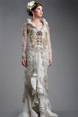 model kebaya pengantin modern koleksi model kebaya pengantin koleksi
