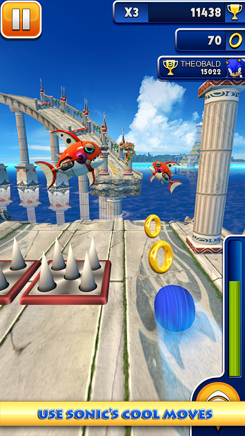 Sonic Dash 1.12 apk