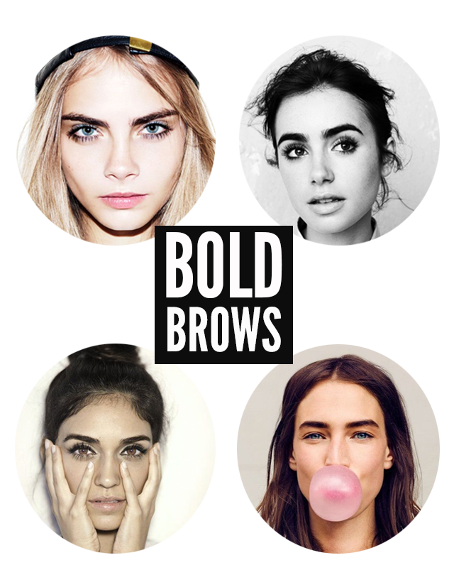 The Big, Bold Brow Trend