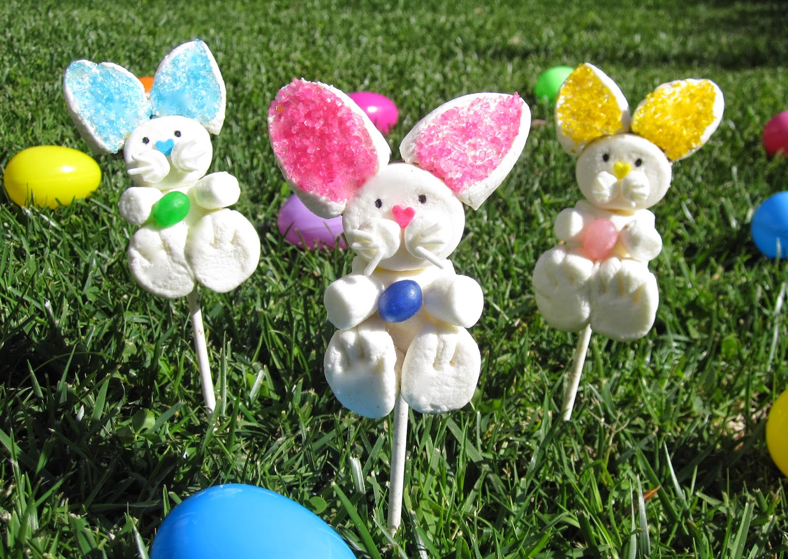Video marshmallow easter bunny pops lindsay ann bakes even tie a custom tag to the stick to use as a personalized gift or place setting negle Choice Image