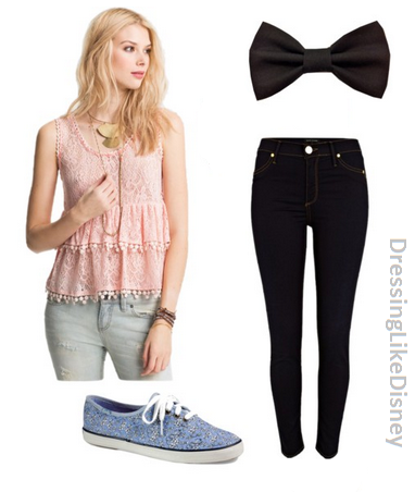 This Is An Inspired Outfit For The Character Cat Valentine From The TV Show  Victorious Acted By Ariana Grande