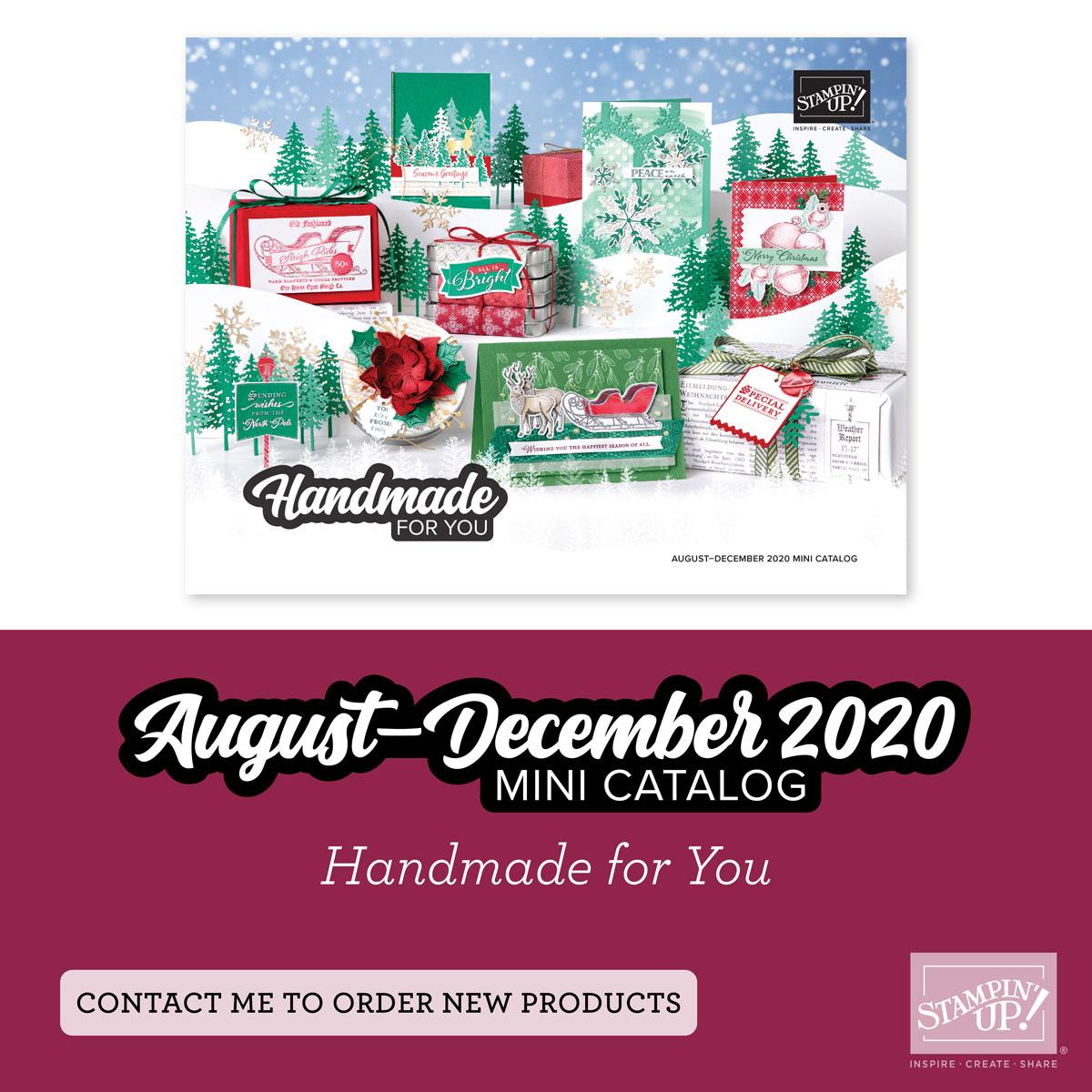 Aug - Dec Mini Catalog