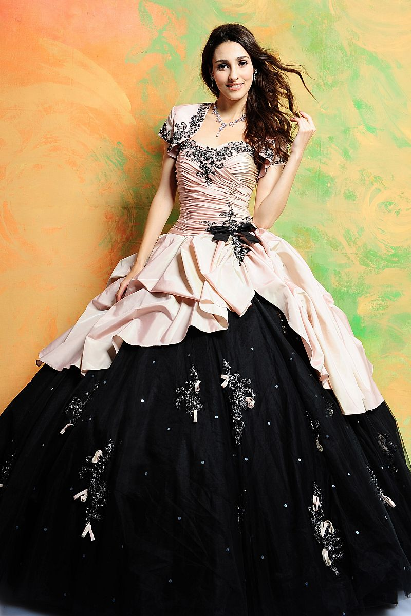 vintage ball gown prom dress