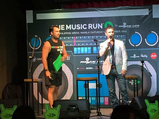 Music Run Manila launch