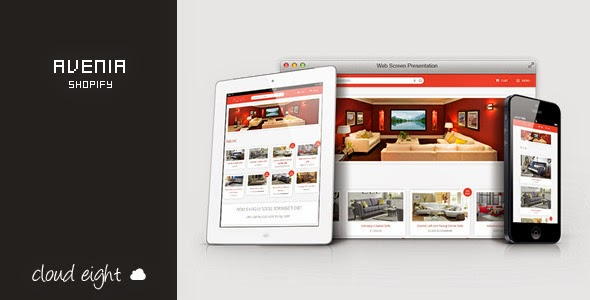 onlne store website template
