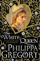 Hardback book cover of The White Queen by Philippa Gregory